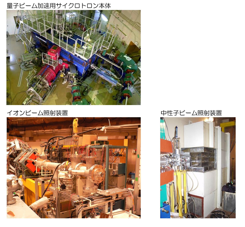 [103] 高速イオン・中性子ビーム照射装置 画像