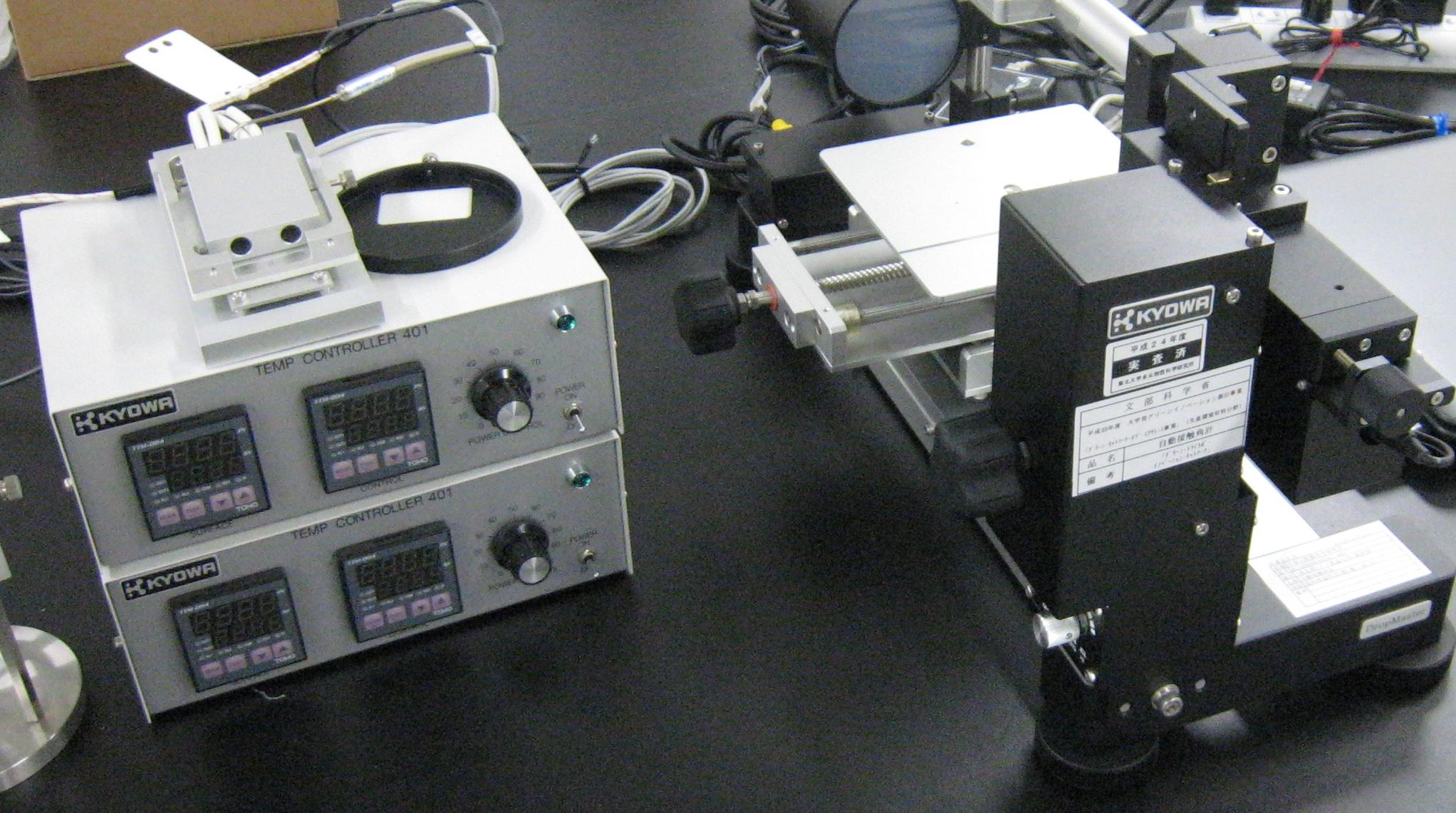 [064] 接触角・表面張力計 画像