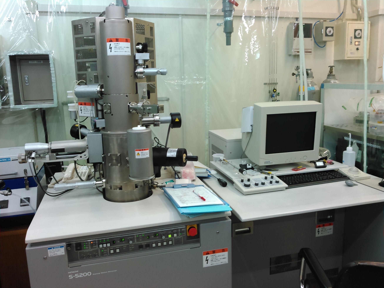 [308] 超高分解能電界放出形走査電子顕微鏡 画像