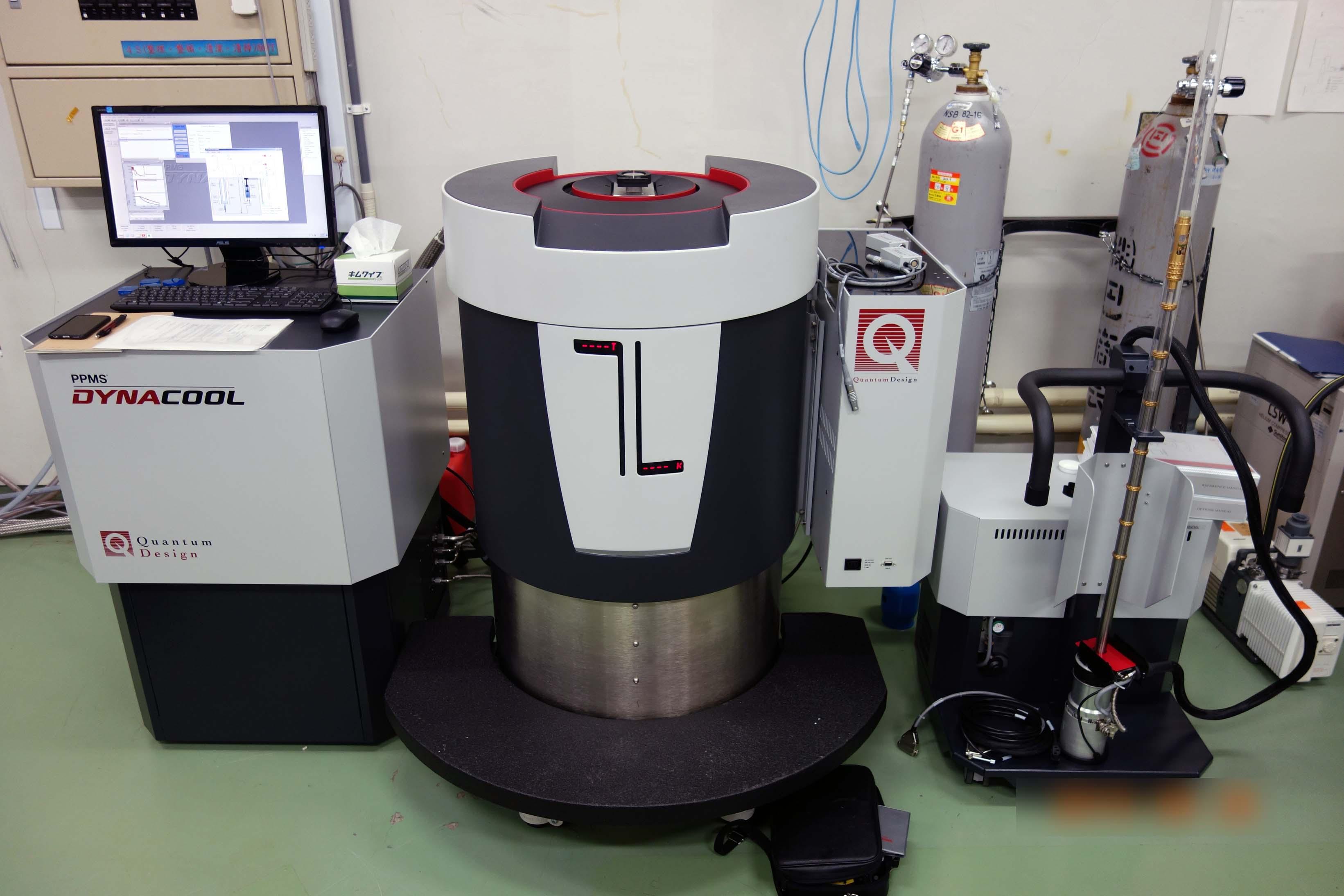 [293] 低温物性測定装置 PPMS DynaCool-9ZMZ 画像