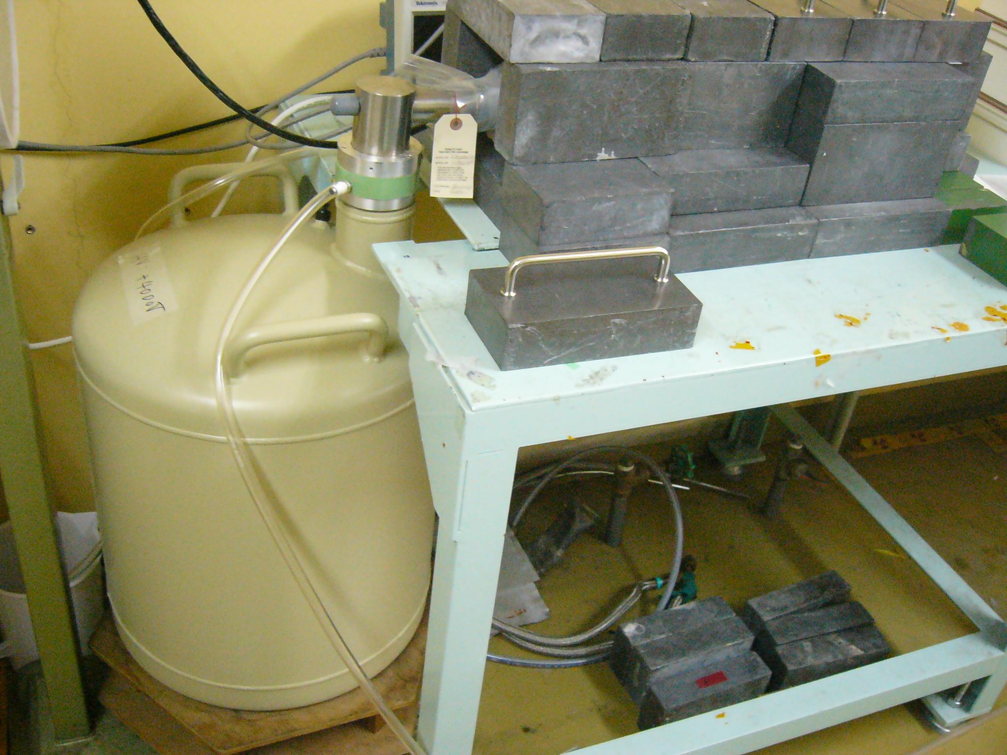 [323] P-タイプ同軸型ゲルマニウム半導体検出器 (CYRIC共同利用 RI共同利用【施設利用】) 〔リンク〕 画像