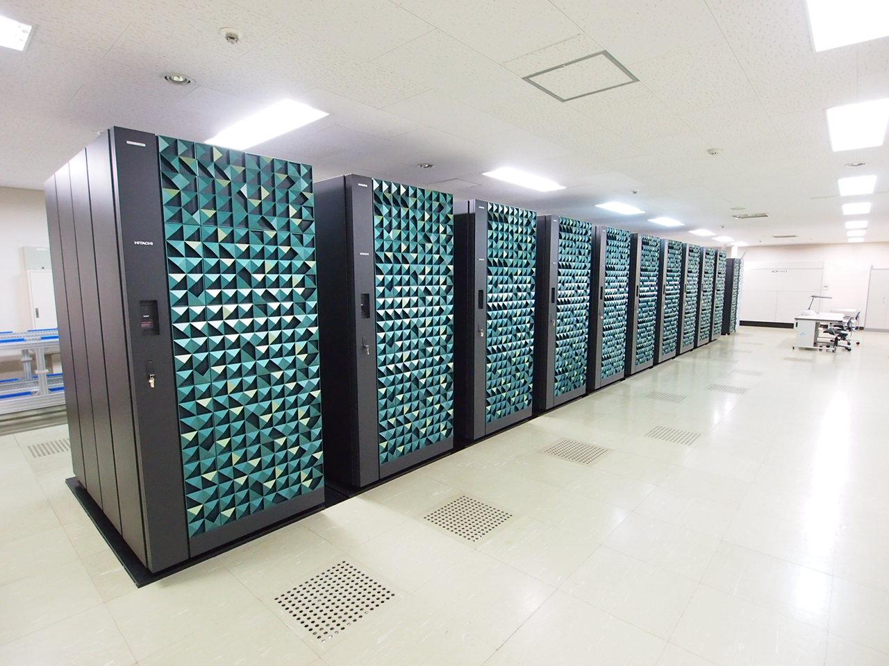 [291] スーパーコンピューティングシステム (共同利用・共同研究拠点他 設備) 〔リンク〕 画像