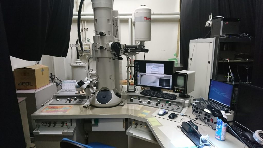 [548] 分析透過電子顕微鏡  〔リンク〕 画像