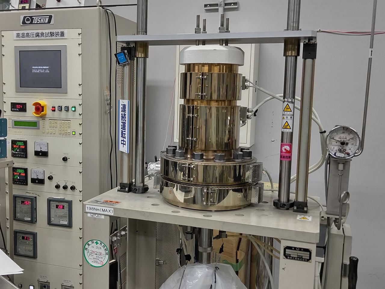 [354] 高温高圧腐食試験装置 一式 画像