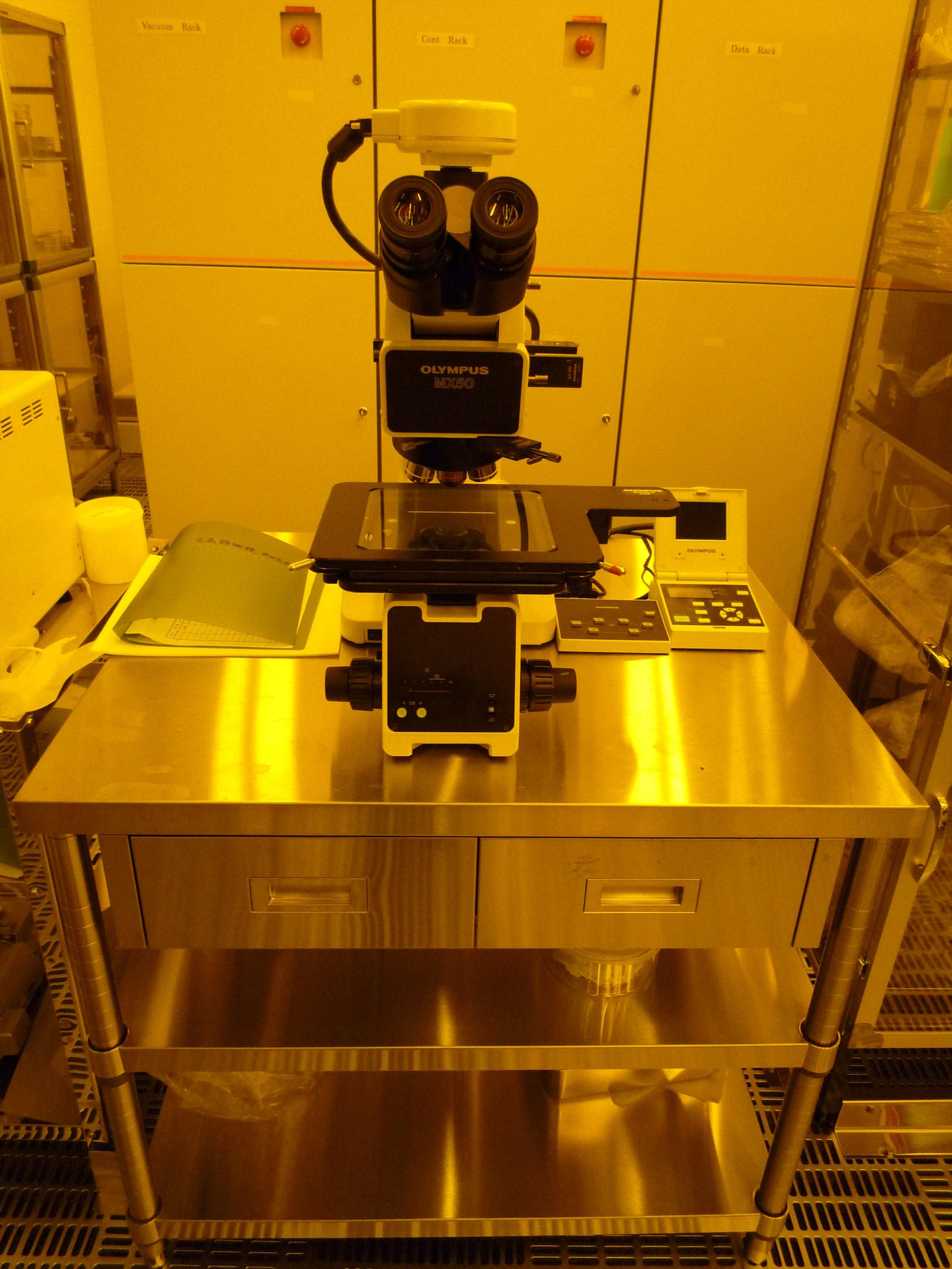 [567] リソグラフィー関連(金属顕微鏡 MX50A/T) 画像