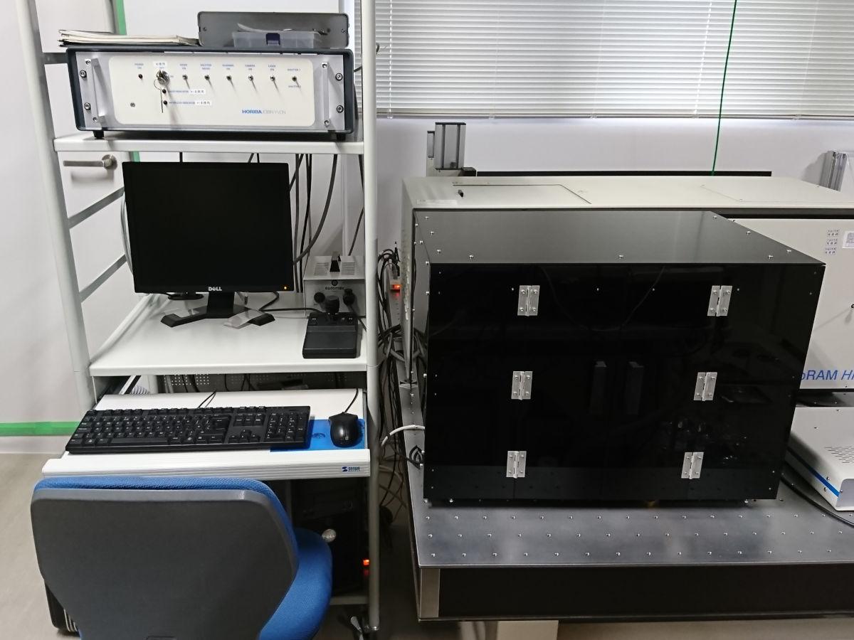 [620] 顕微ラマン分光分析装置  〔リンク〕 画像