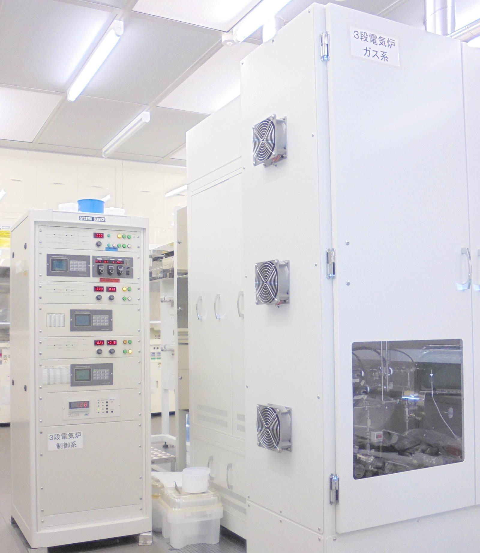 [587] ナノスピン熱処理装置(Si室) 画像