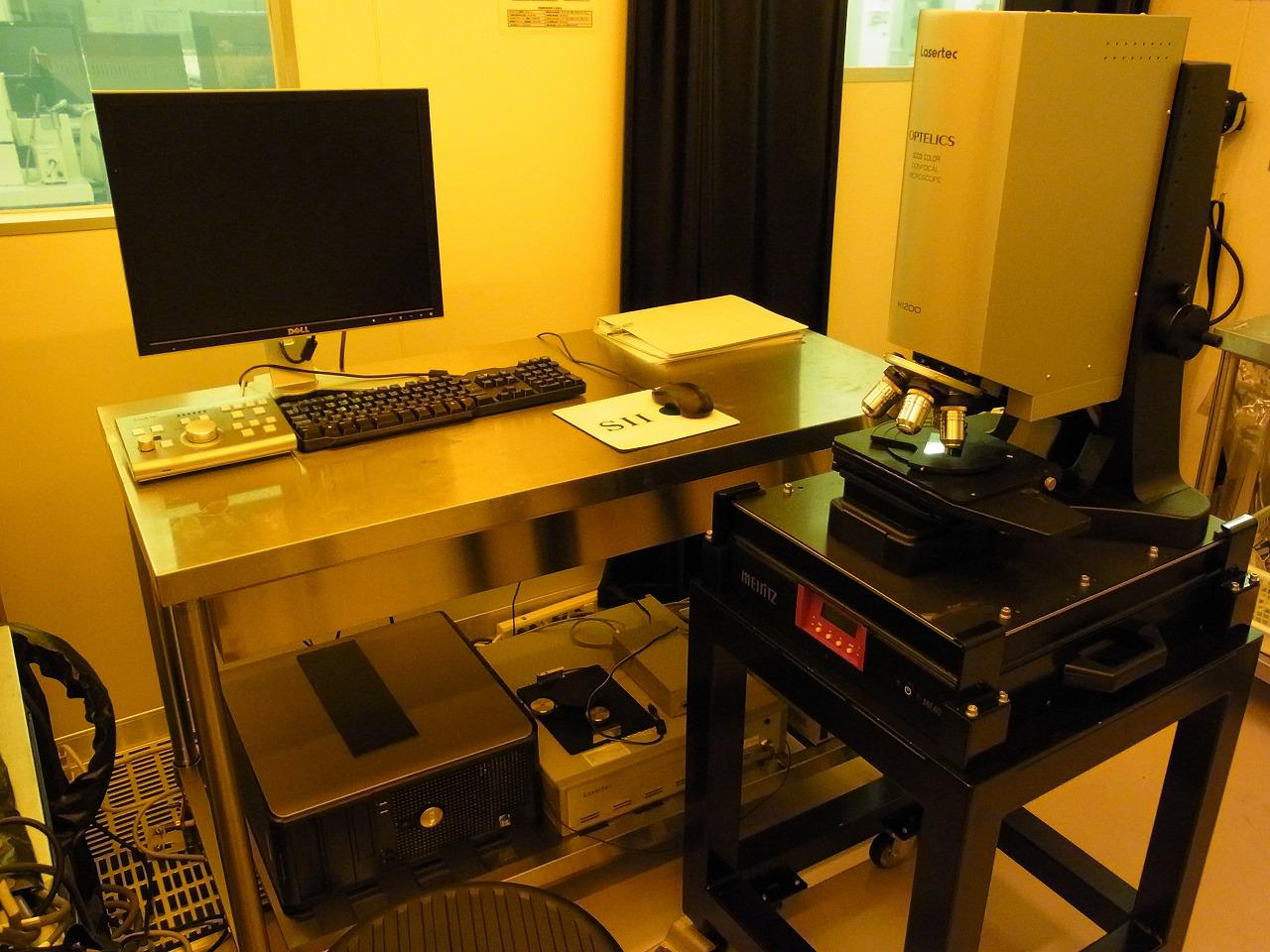 [605] レーザー共焦点顕微鏡(Lasertec) 画像