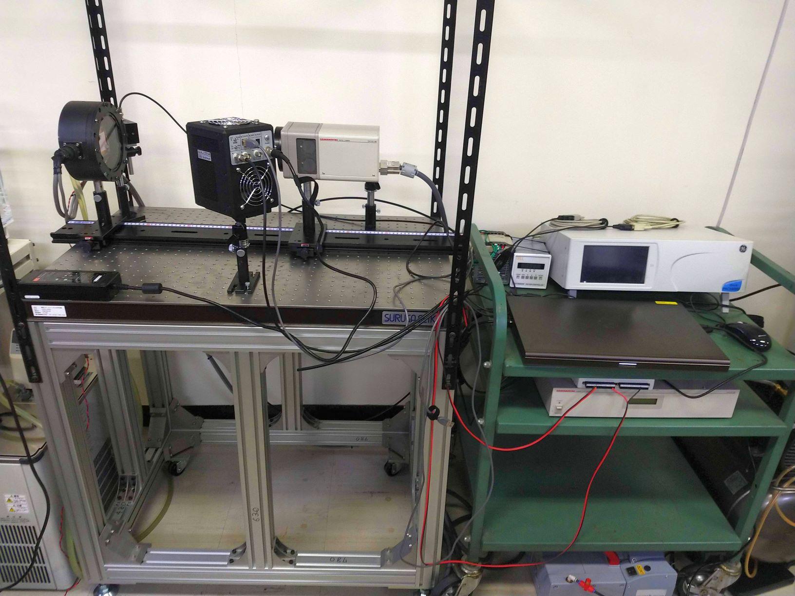 [650]感圧塗料計測システム 画像