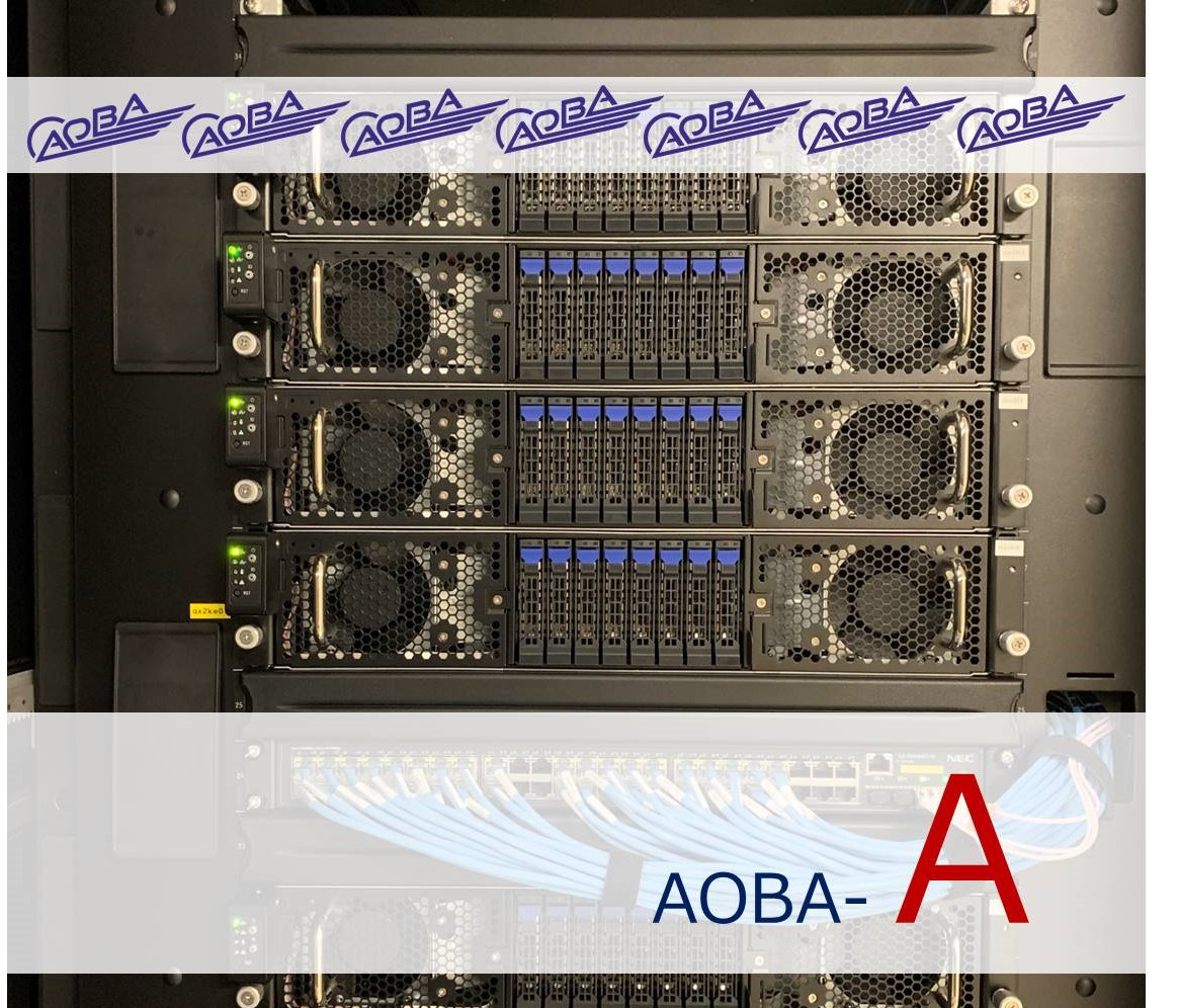 [693] スーパーコンピュータAOBA (サブシステムA)  〔リンク〕 画像